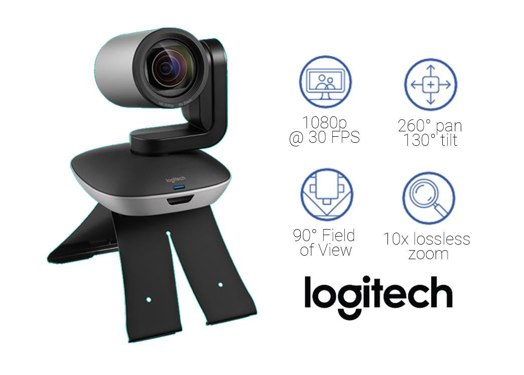 Logitech PTZ Pro 2 Features