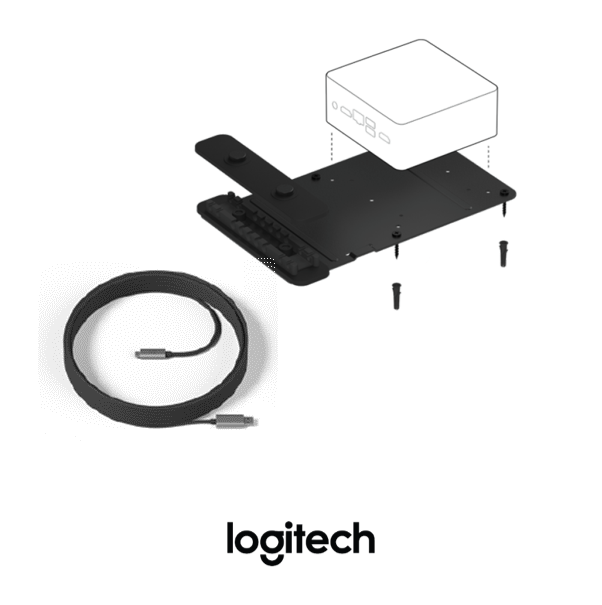 Logitech Tap for Google Hangouts Meet Kit Accessories from VCG
