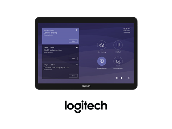 Logitech Tap for Microsoft Teams and Skype for Business Kits from VCGear.com
