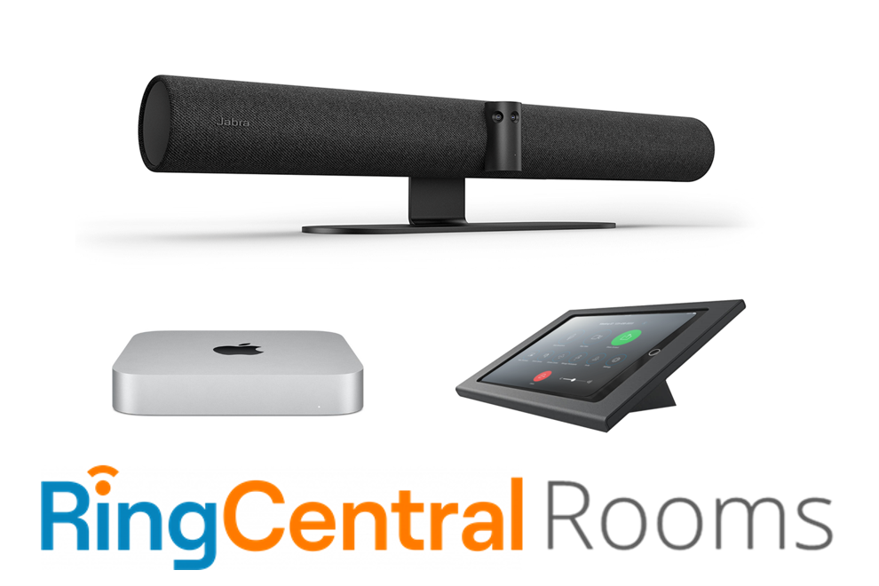 RingCentral Rooms Kit with Mac Mini and PanaCast 50 available from videoconferencegear.com