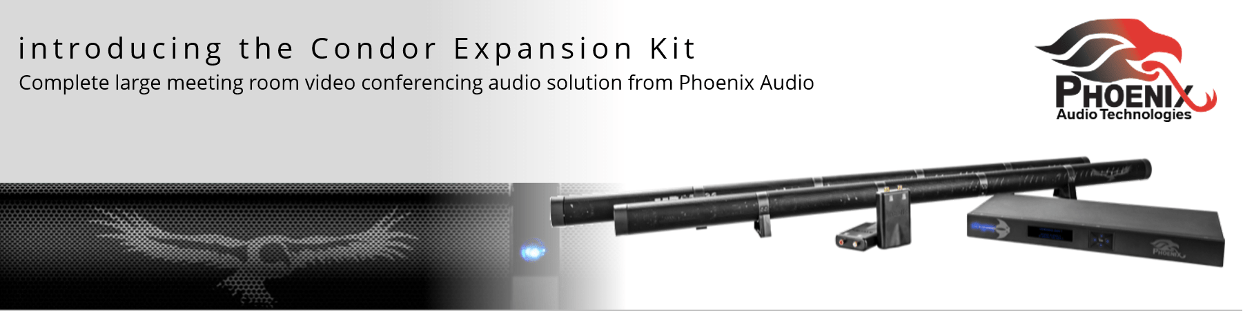 Video Conference Gear and Phoenix Audio Condor Expansion Kit