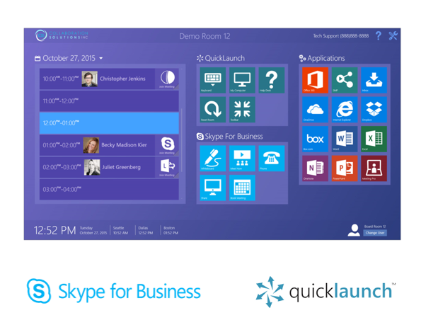 Skype for Business QuickLaunch Software