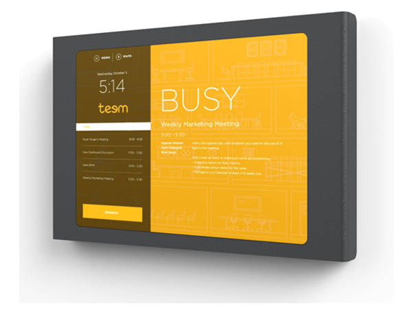 RingCentral Rooms Schedule Display Kits from VCG