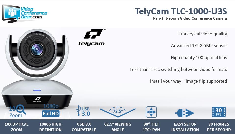TelyCam TLC 1000 U3S
