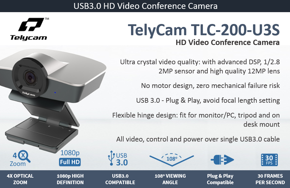 TelyCam TLC-200-U3S
