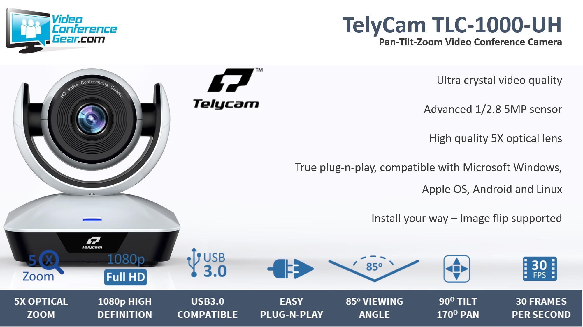 TelyCam TLC-1000-UH
