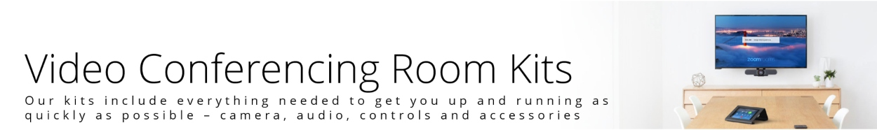 Video Conferencing Room Kits from VCGear.com