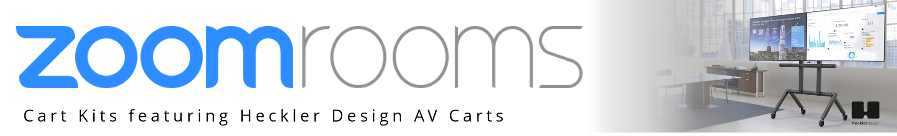 Zoom Rooms Cart Kits from VCGear.com