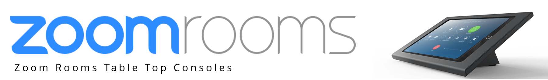 Zoom Rooms Consoles from VCGear.com