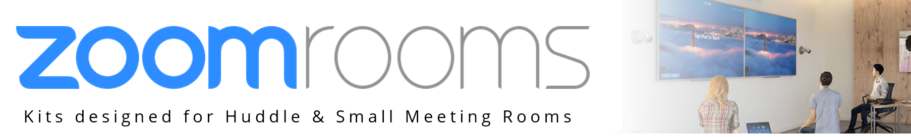 Zoom Rooms Huddle Room Kits from VCGear.com