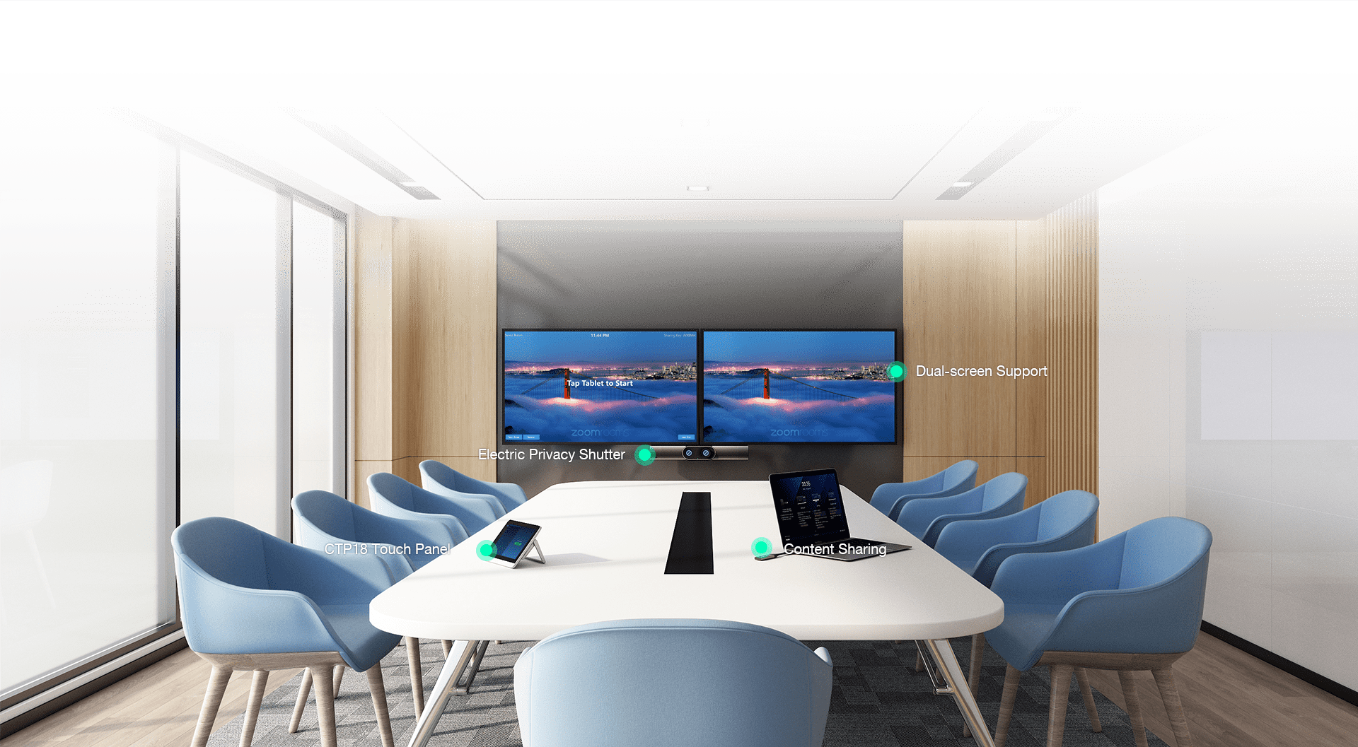 Yealink MeetingBar A30 for Microsoft Teams Kit