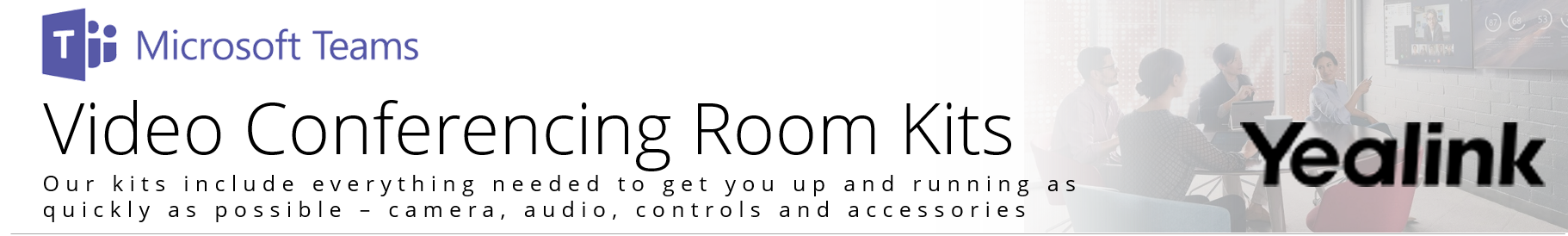 Yealink Microsoft Teams Video Conferening Kit