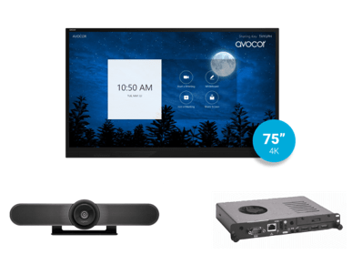 Zoom Rooms Kit from Video Conference Gear featuring the Acocor E-Series