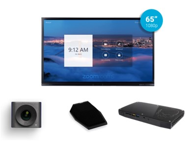 Zoom Rooms Kit from Video Conference Gear featuring the Acocor F-Series