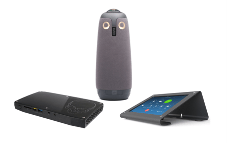 Zoom Rooms Kit from Video Conference Gear featuring the Meeting Owl
