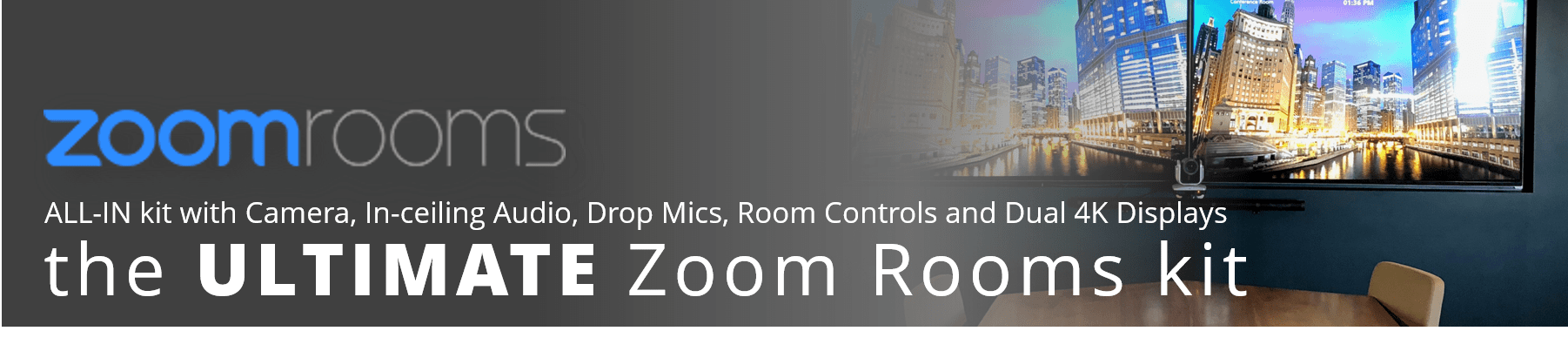 Get Yoour Zoom Rooms from VCG