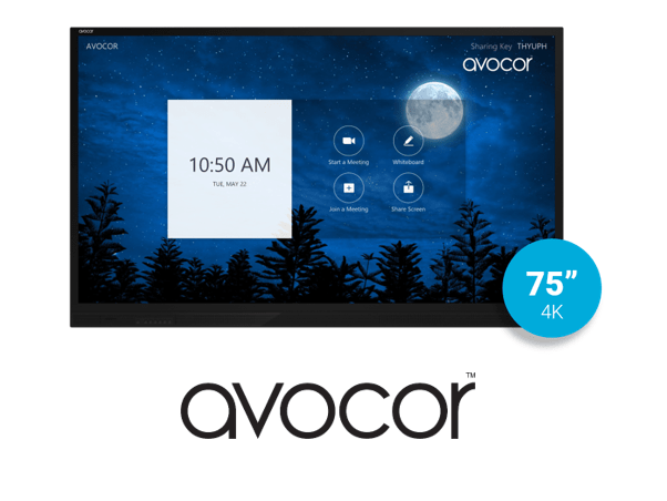 Acocor E-Series 75 UltraHD Interactive Display from VCG