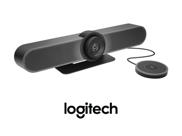Fuze Roomss Kit with the Logitech MeetUp from VCG