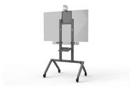 "Heckler H700 AV Cart - Single Display up to 75"" - Black Grey"