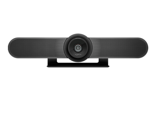 Logitech MeetUp 4K UtralHD Video Soundbar Integrated Camera and Audio Perfect for Your Huddle Rooms (960-001101)