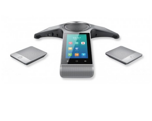 Yealink CP960 Optima HD IP Conference Phone with Additional Wireless Microphones for Large Conference Rooms (YEA-CP960-WIRELESSMIC)