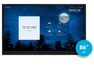 "Avocor E-Series 86"" 4K UltraHD Interactive Touch Display"