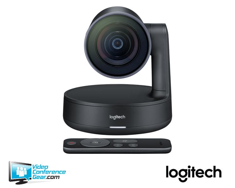 Logitech Rally 4K PTZ Video Conference Camera, 4k, 90 FOV, USB 3 0