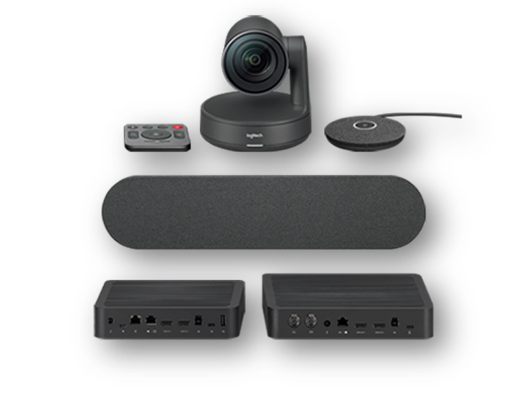 Logitech Rally Solution including one speaker and mic pod