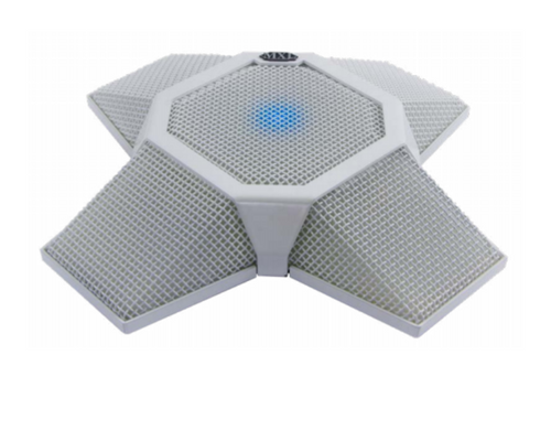 MXL AC-360-Z V2 (White) Tabletop Microphone built for Zoom Rooms and Zoom Video Conferencing (AC-360-Z-V2-White)