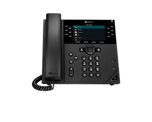 Polycom VVX 450 Business IP Phone Certified for Zoom Phone