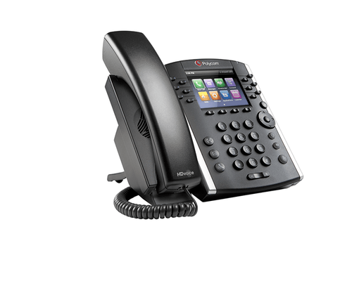 Polycom VVX 401 Business Media Phone Certified for Zoom Phone