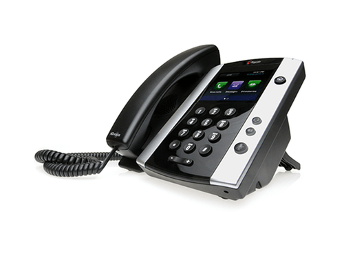 Polycom VVX 501 Business Media Phone Certified for Zoom Phone