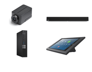 Zoom Rooms Kit featuring the Huddly IQ and Nureva HDL300 with Dell OptiPlex Perfect for Any Conference Room
