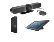 Zoom Rooms Kit featuring the Logitech MeetUp with Expansion Mic with Dell OptiPlex Perfect for any Conference Room