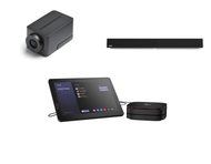 Microsoft Teams Kit featuring the Huddly IQ and Nureva HDL300 with the HP Slice Perfect for Any Conference Room
