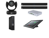 RingCentral Kit featuring the AVer CAM520 Pro and Nureva Dual HDL300 with Dell OptiPlex Perfect for any Conference Room