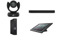 RingCentral Kit featuring the AVer CAM520 Pro and Nureva HDL300 with Dell OptiPlex Perfect for any Conference Room