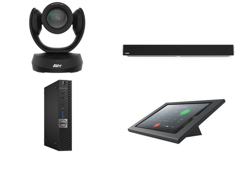 RingCentral Kit featuring the AVer CAM520 Pro2 and Nureva HDL300 with Dell OptiPlex Perfect for any Conference Room