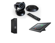 RingCentral Rooms Kit featuring the AVer VC520 Pro Video Soundbar with Dell OptiPlex Perfectly Matched Camera and Audio Solution