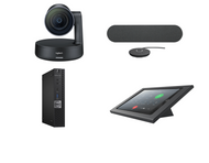 RingCentral Rooms Kit featuring the Logitech Rally with Dell OptiPlex Perfect for Any Conference Room