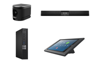 Zoom Rooms Kit featuring the AVer CAM340+ and Nureva HDL200 with Dell OptiPlex for Conference Rooms up to 18' x 18'