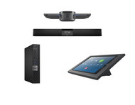 Zoom Rooms Kit featuring the Jabra PanaCast and Nureva HDL200 with Dell OptiPlex for Conference Rooms up to 18' x 18'