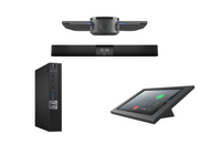 RingCentral Rooms Kit featuring the Jabra PanaCast and Nureva HDL200 with Dell OptiPlex for Conference Rooms up to 18' x 18'