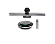 Yealink Microsoft Teams Video Conferencing Room System featuring the VC210 4K Camera with CP900 Tabletop Speakerphone