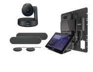Crestron Flex Integrator bundle with Logitech Rally Large for Microsoft Teams