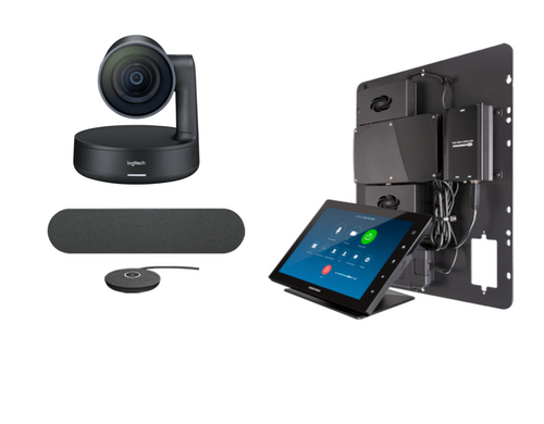 Crestron Flex Integrator bundle with Logitech Rally Medium for Zoom Rooms