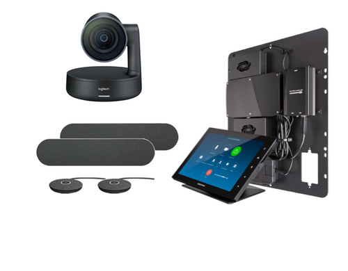 Crestron Flex Integrator bundle with Logitech Rally Large for Zoom Rooms