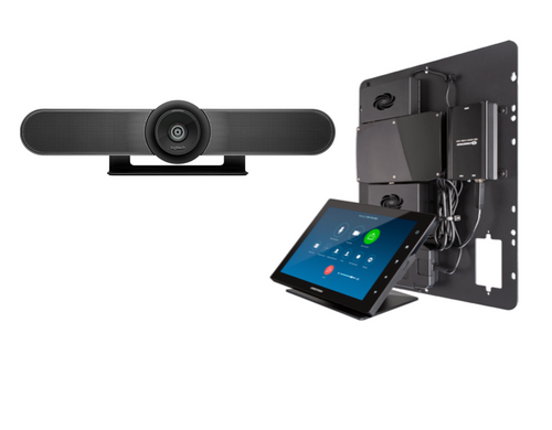 Crestron Flex bundle with Logitech for Small Zoom Rooms