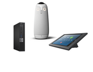 Zoom Rooms Kit featuring the Meeting Owl Pro 360˚ Panoramic Camera All-in-One with Dell OptiPlex Ready for any Conference Room