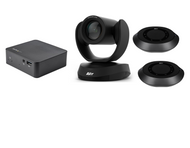 Multi Platform Distance Learning Classroom Kit with AVer VC520 Pro2 with 2 Speakerphones with ceiling mounts